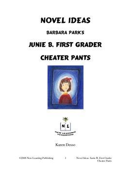 Novel Ideas: Junie B. First Grader Cheater Pants