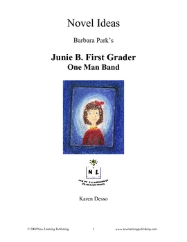 Novel Ideas: Junie B First Grader One Man Band