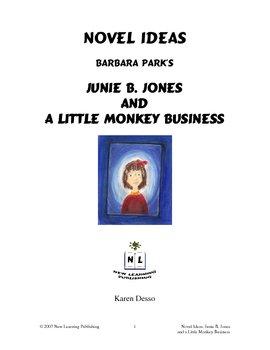 Novel Ideas: Junie B. Jones and a Little Monkey Business