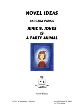 Novel Ideas: Junie B. Jones Is A Party Animal