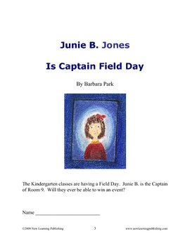 Novel Ideas: Junie B. Jones Is Captain Field Day