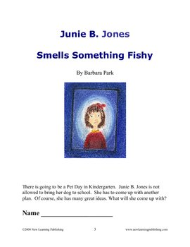 Novel Ideas: Junie B. Jones Smells Something Fishy