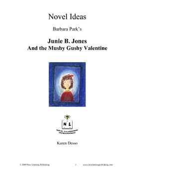 Novel Ideas: Junie B. Jones and the Mushy Gushy Valentine