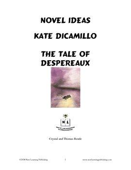 Novel Ideas: Kate DiCamillo's The Tale of Despereaux