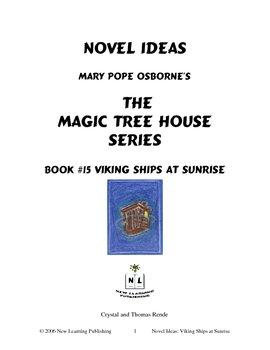 Novel Ideas: Magic Tree House #15: Viking Ships at Sunrise