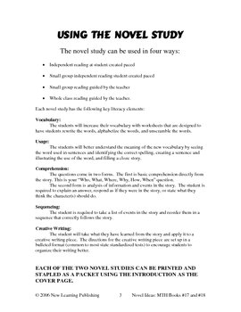 Novel Ideas: Magic Tree House #17 & #18 - Two Complete Novel Studies