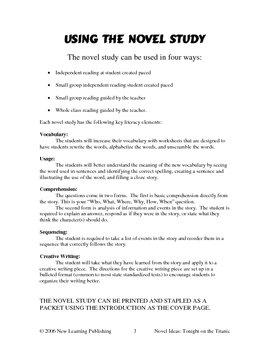 Novel Ideas: Magic Tree House #17: Tonight on the Titanic