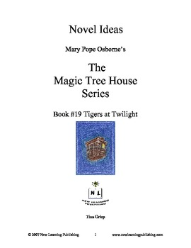 Novel Ideas: Magic Tree House #19: Tigers at Twilight