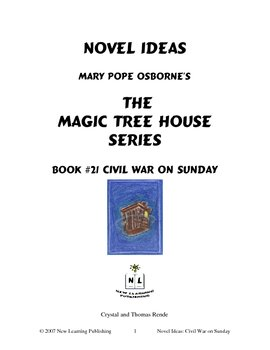 Novel Ideas: Magic Tree House #21: Civil War on Sunday