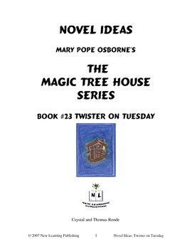 Novel Ideas: Magic Tree House #23: Twister on Tuesday