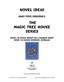 Novel Ideas: Magic Tree House #25 & #26 - Two Complete Novel Studies