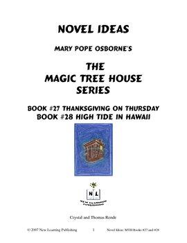 Novel Ideas: Magic Tree House #27 & #28 - Two Complete Novel Studies