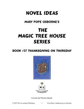 Novel Ideas: Magic Tree House #27: Thanksgiving on Thursday