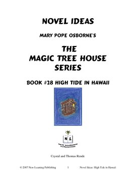 Novel Ideas: Magic Tree House #28: High Tide in Hawaii