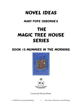 Novel Ideas: Magic Tree House #3: Mummies in the Morning