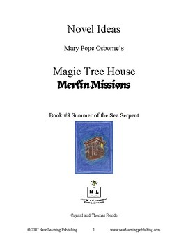 Novel Ideas: Magic Tree House #31: Summer of the Sea Serpent