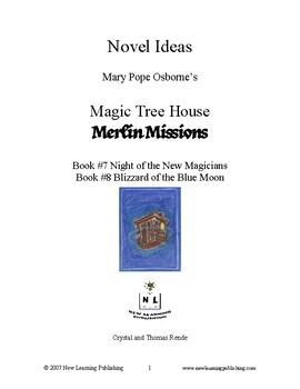 Novel Ideas: Magic Tree House #35 & #36- Two Complete Novel Studies