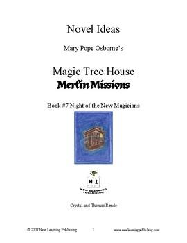 Novel Ideas: Magic Tree House #35: Night of the New Magicians