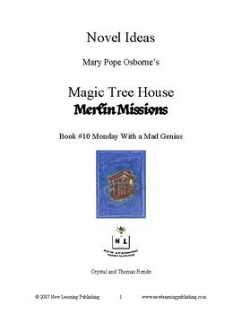 Novel Ideas: Magic Tree House #38: Monday with a Mad Genius