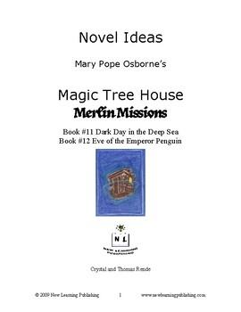 Novel Ideas: Magic Tree House #39 & #40 - Two Complete Novel Studies