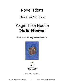 Novel Ideas: Magic Tree House #39: Dark Day in the Deep Sea