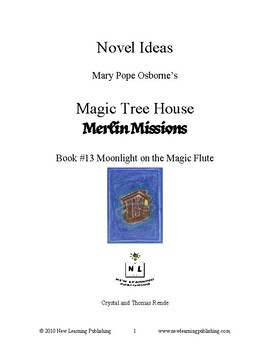 Novel Ideas: Magic Tree House #41: Moonlight on the Magic Flute