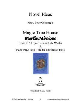 Novel Ideas: Magic Tree House #43 & #44 - Two Complete Novel Studies