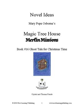 Novel Ideas: Magic Tree House #44: Ghost Tale for Christmas Time