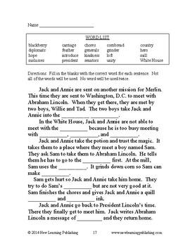 Novel Ideas: Magic Tree House #47 & #48: Two Complete Novel Studies