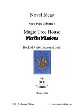 Novel Ideas: Magic Tree House #47: Abe Lincoln at Last!