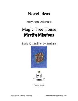 Novel Ideas: Magic Tree House #49: Stallion by Starlight