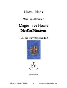 Novel Ideas: Magic Tree House #50: Hurry Up, Houdini!