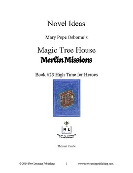 Novel Ideas: Magic Tree House #51: High Time for Heroes
