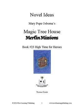 Novel Ideas: Magic Tree House #51: High Time for Heroes