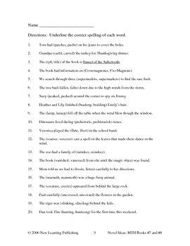 Novel Ideas: Magic Tree House #7 & #8 - Two Complete Novel Studies
