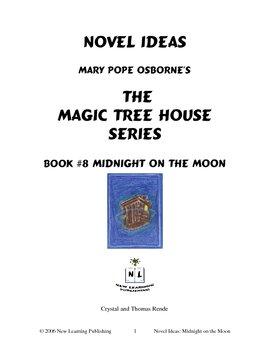 Novel Ideas: Magic Tree House #8: Midnight on the Moon