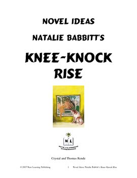 Novel Ideas: Natalie Babbitt's Knee-Knock Rise