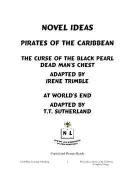 Novel Ideas: Pirates of the Caribbean - Complete Trilogy