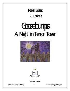 Novel Ideas - R. L. Stine's Goosebumps A Night in Terror Tower