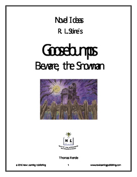 Novel Ideas - R. L. Stine's Goosebumps Beware, The Snowman