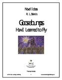 Novel Ideas - R. L. Stine's Goosebumps How I Learned to Fly
