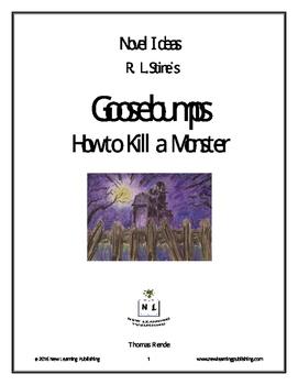 Novel Ideas - R. L. Stine's Goosebumps How to Kill a Monster