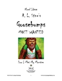Novel Ideas - R. L. Stine's Goosebumps Most Wanted: How I Met My Monster