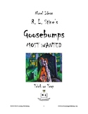 Novel Ideas - R. L. Stine's Goosebumps Most Wanted: Trick or Trap