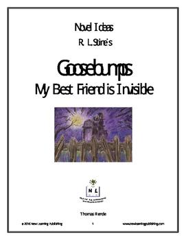 Novel Ideas - R. L. Stine's Goosebumps My Bestfriend is Invisible