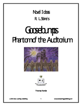 Novel Ideas - R. L. Stine's Goosebumps Phantom of the Auditorium