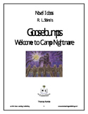 Novel Ideas - R. L. Stine's Goosebumps Welcome to Camp Nightmare