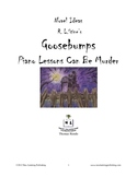 Novel Ideas - R. L. Stine's Goosebumps Piano Lessons Can Be Murder