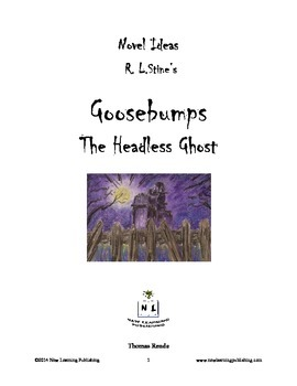 Novel Ideas - R. L. Stine's Goosebumps The Headless Ghost