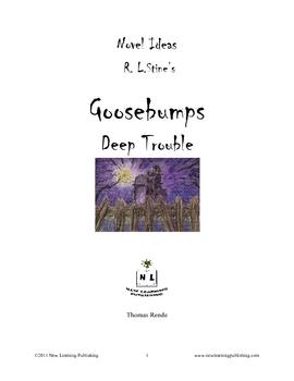 Novel Ideas - R.L. Stine's Goosebumps Deep Trouble